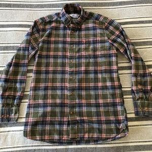 Men's Small Southern Tide Flannel Shirt Frat
